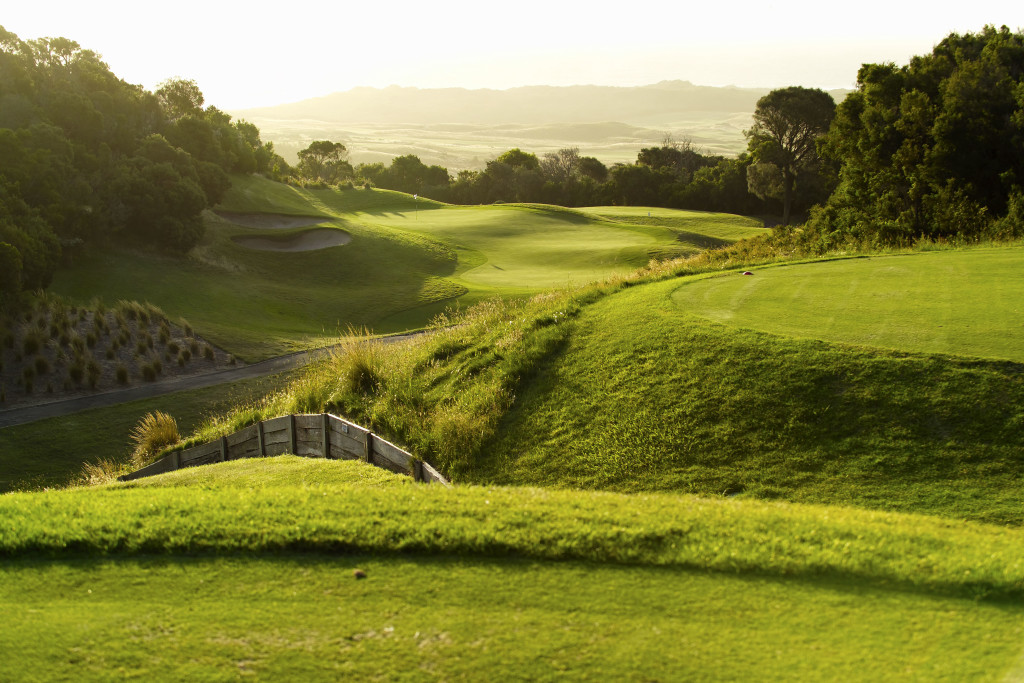 Golf_University_RACV-Cape_Schanck_Resort_14th_Hole_sunrise