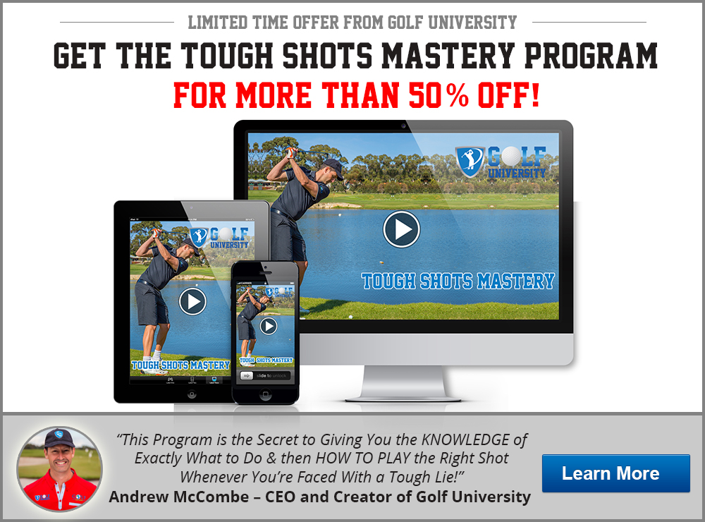 Tough Shots Mastery Program