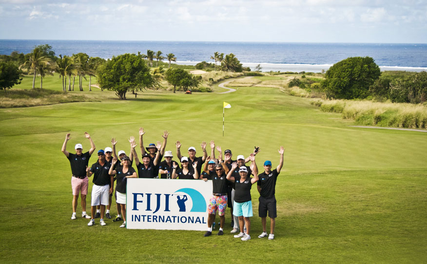 Golf Getaway AXE Fiji International