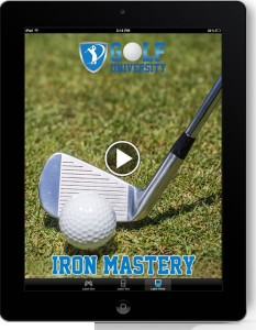 Golf_University_Iron_Mastery_Program_iPad_Play_Resized